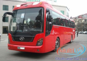 cho thuê xe cưới, Xe cưới Hyundai Aero Hi-Class 45 Chỗ