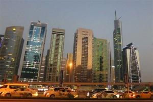 Dubai từ lâu đã nổi tiếng với những tòa nhà chọc trời.