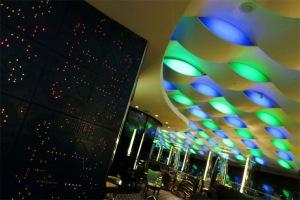 Đây là quán bar Skyview trong khách sạn Burj al Arab ở độ cao khoảng 61 mét so với mực nước biển.